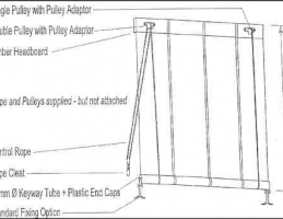 Rope Pulley Awning